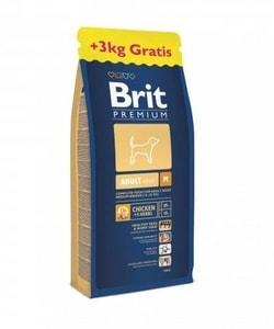 Brit Premium Dog Adult M 15+3kg