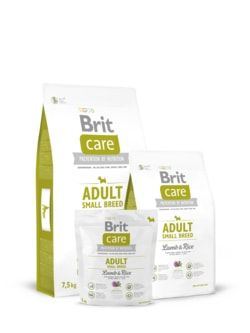 Brit Care Dog Adult Small Breed Lamb & Rice 2x 7,5kg