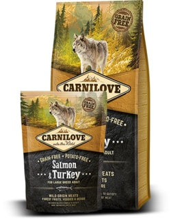 Carnilove Dog Salmon & Turkey for Large Breed Adult 12kg